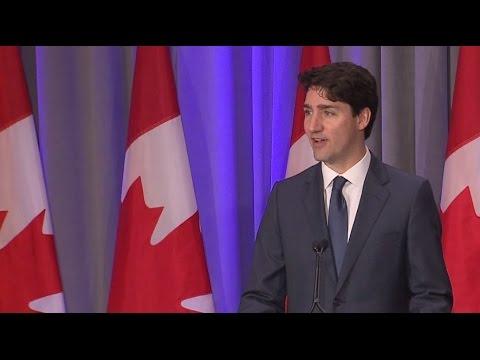 Canada sorta made a big announcement