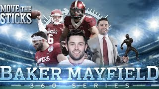 Baker mayfield's nfl draft profile with college & high school highlights | mts 360 series