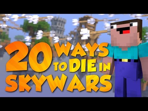 20 Ways to Die in Skywars (Minecraft Animation) [Hypixel]