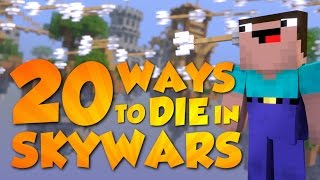 20 Ways to Die in Skywars Minecraft Animation Hypixel