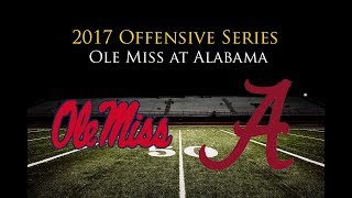 Ole Miss Offense vs. Alabama Defense (2017)