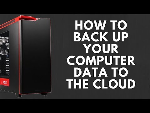 How to Back up your Computer Data to the Cloud