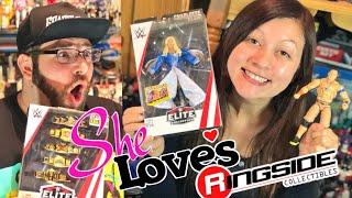 HEEL WIFE'S GAME REVEALED? LOVES WWE ELITE 54 WRESTLING FIGURE UNBOXING