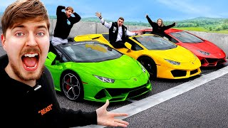 Download lagu Lamborghini Race, Winner Keeps Lamborghini