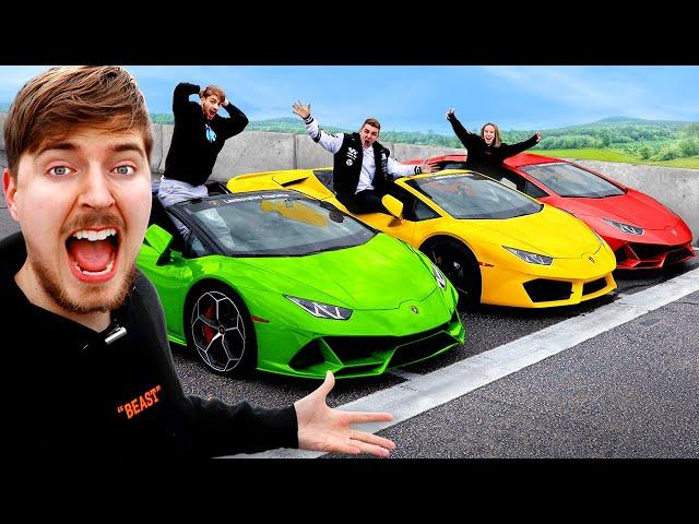 Lamborghini Race, Winner Keeps Lamborghini