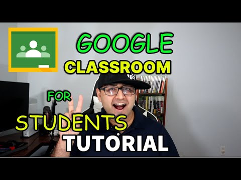 Google Classroom Tutorial For Students 2020