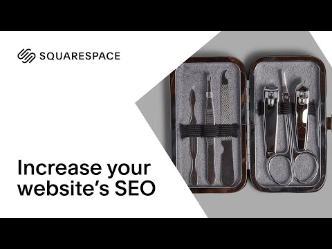 Increase Your Website's SEO | Squarespace Tutorial thumbnail