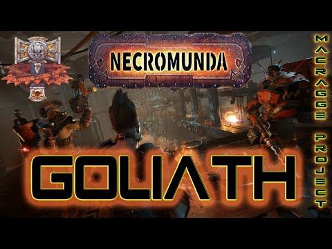 Casa Goliath de Necromunda Underhive Wars  