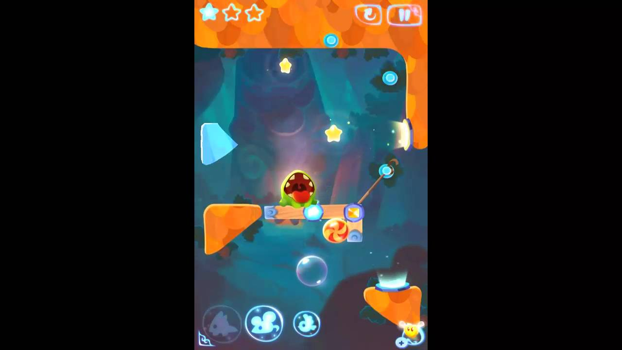 Cut the Rope Magic - Stone Temple Level 6-22 Walkthrough 3 Stars - YouTube
