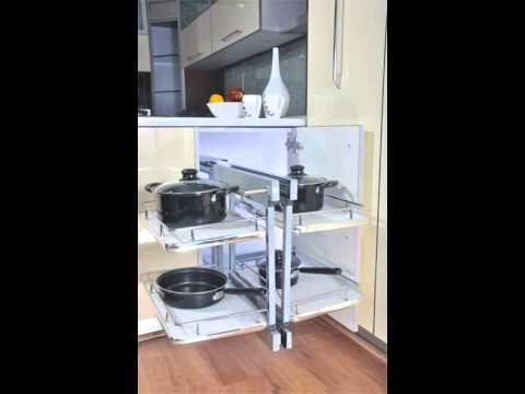 Modular Kitchen | Corner Units Of Modern Kitchen