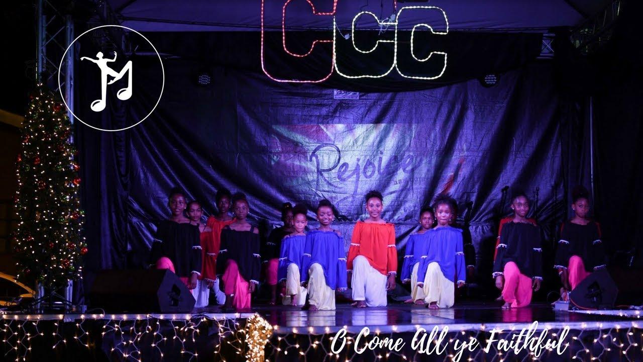 O come all ye Faithful (DANCE) – Pentatonix – Jemelia's Arts & Music School - YouTube