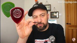 Jim Dunlop Flow Gloss Review #plectroverse #heavyrepping #pickreview #jimdunlopflow