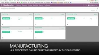 Odoo 10 Demo - Manufacturing