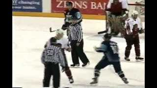 ahl worcester utah hockey fight greg black vs dan jancevski 11 22 03