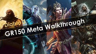 Diablo 3 Greater Rift 150 Meta Walkthrough