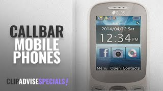 Top 10 Callbar Mobile Phones [2018]: CallBar Bold 312 DUAL SIM keypad mobile phone 2 inch display