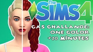The Sims 4: One Color + 10 Minutes Challenge w/ Tomek, Happy