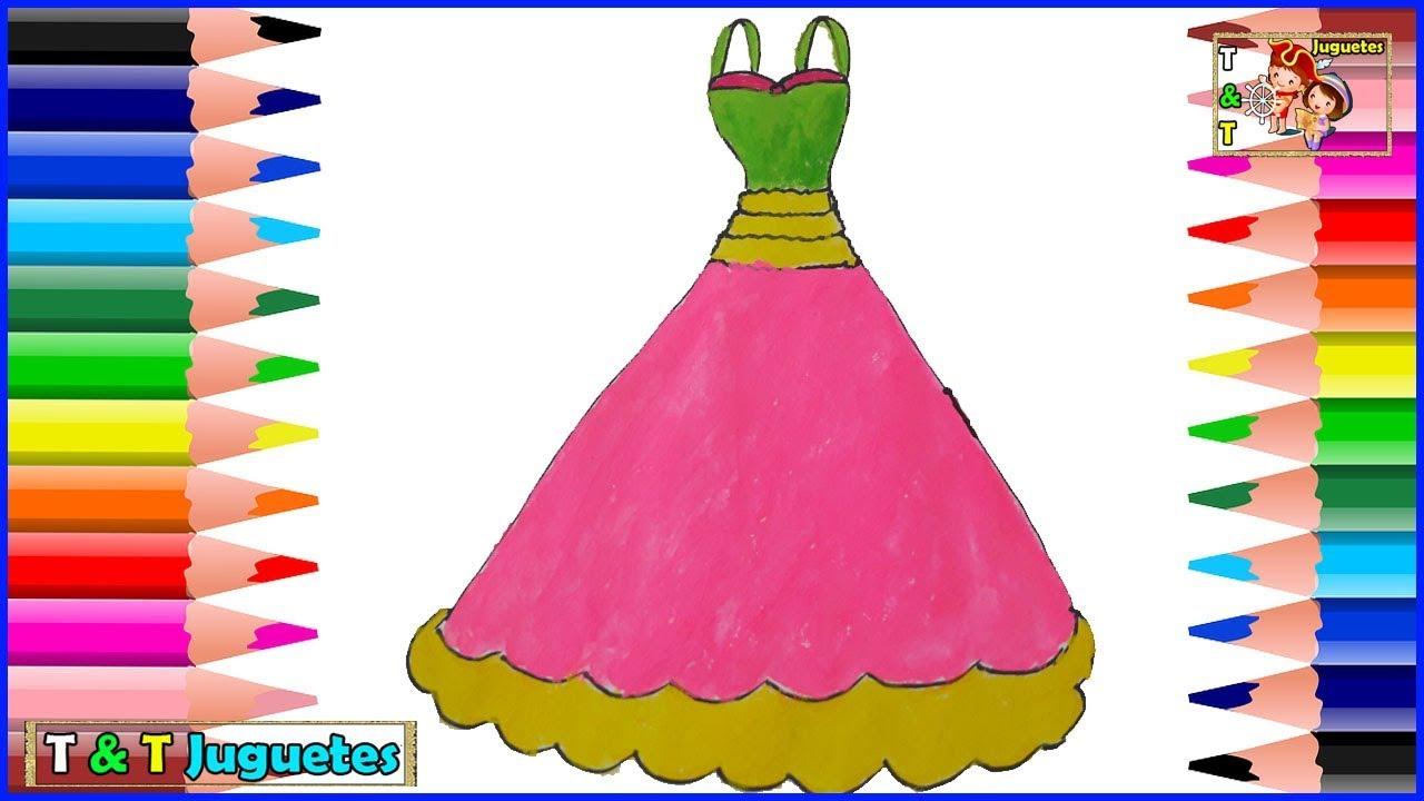 Increíble Cómo Dibujar Un Vestido De Fiesta Friso - Colección de ...