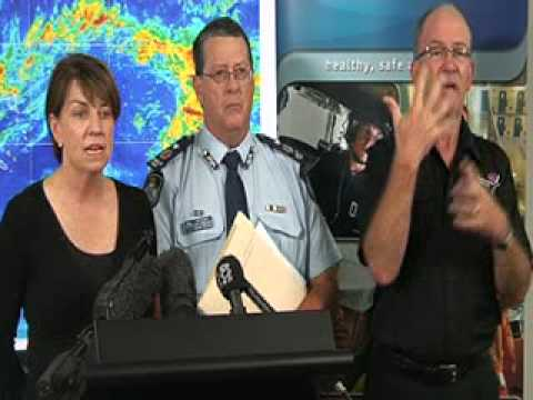 Media Conference - 9:00am TC Yasi briefing, Speaker Premier Anna Bligh, Tuesday Feb 1