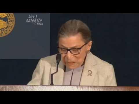 Ruth Bader Ginsburg Identifies Lindsey Graham as a WOMAN!