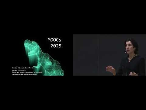 Open edX Conference 2018 with Fiona Hollands Keynote: MOOCs 2025