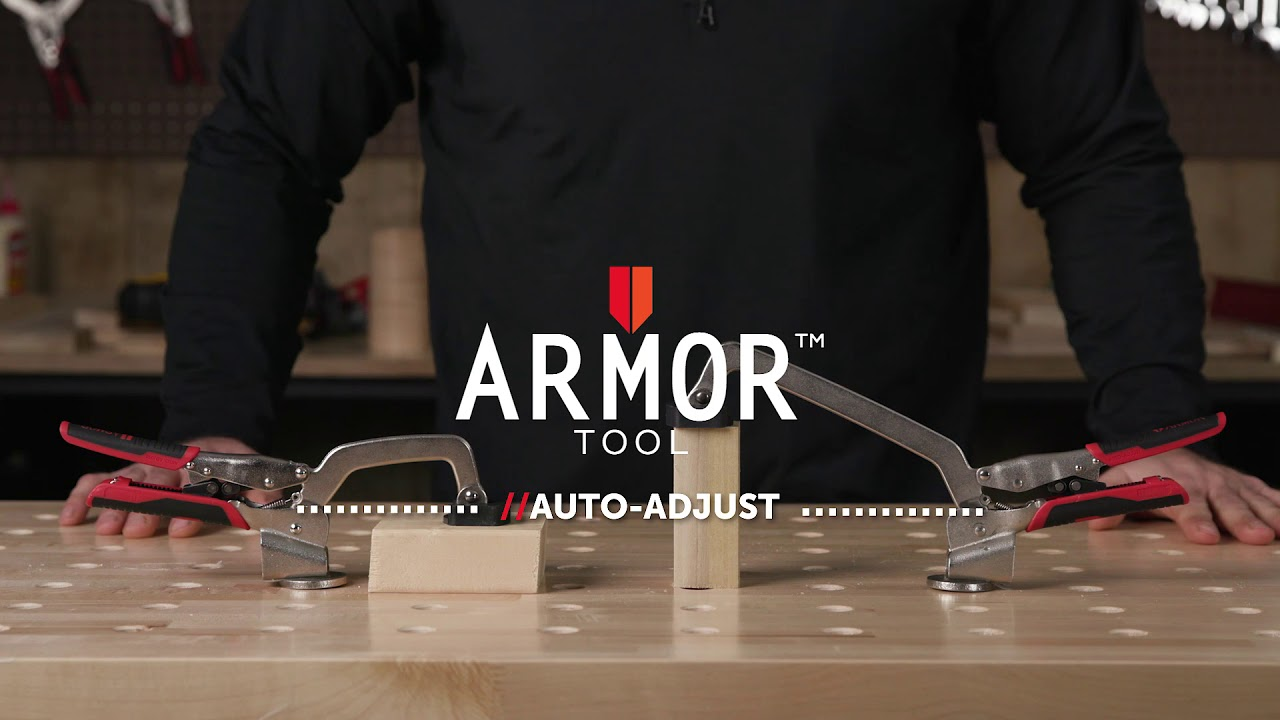 Armor Tool: Drill Press/Bench Clamps