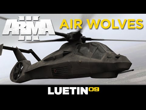 AIR WOLVES | Arma 3 - Levelcap & LT  [Invade & Annex]