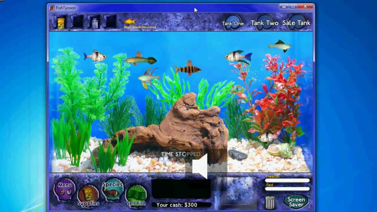 Fish tycoon walkthrough doovi for Fish tycoon 2 guide