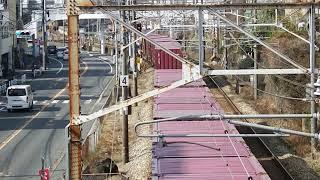JR山陽本線 貨物列車 EF210ー107