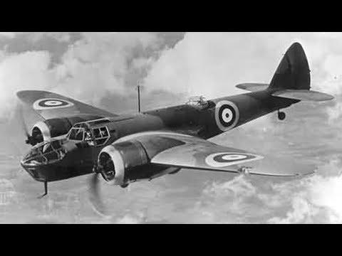 Avion militaire : Le Blenheim bombardier allemand