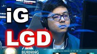 iG vs LGD - TI7 DOTA 2 - TOTAL DOMINATION