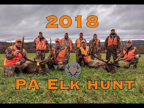 Pennsylvania Elk Hunt 2018