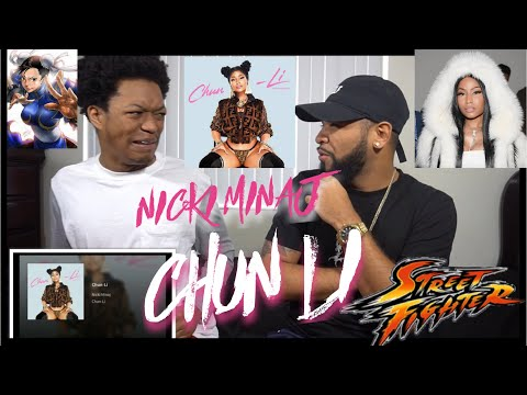 OMG!!!!!!! Nicki Minaj - Chun Li | REACTION!