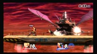 Super Smash Bros. For Wii U [For Glory Mode ~ Zero Suit Samus] 12