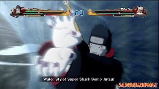 Download Video Naruto Ultimate Ninja Storm Revolution - Kisame Vs Killer Bee MP3 3GP MP4