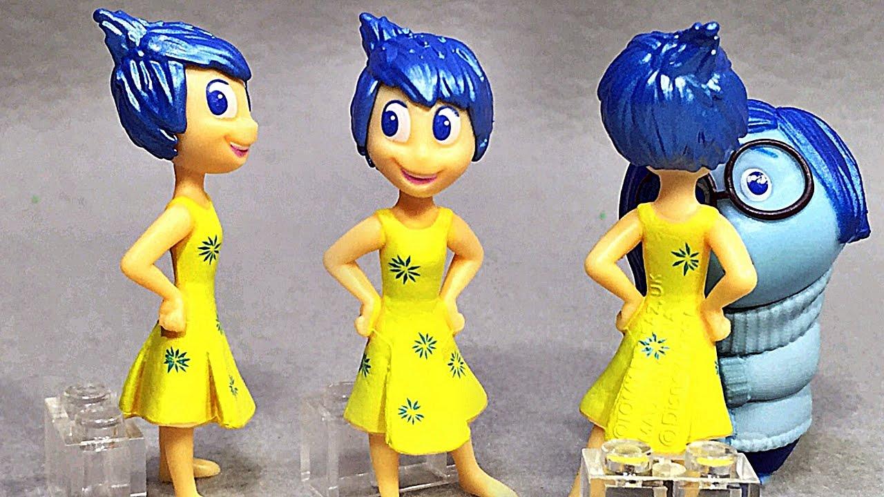 인사이드 아웃 기쁨이 새드니스 디즈니 픽사 애니메이션 영화 캐릭터 미니피규어 inside out Joy movie minifigure