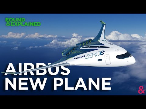 Airbus Future Plane Concept - ZEROe - Hydrogen, New Cabins And Zero Emissions - Never Built