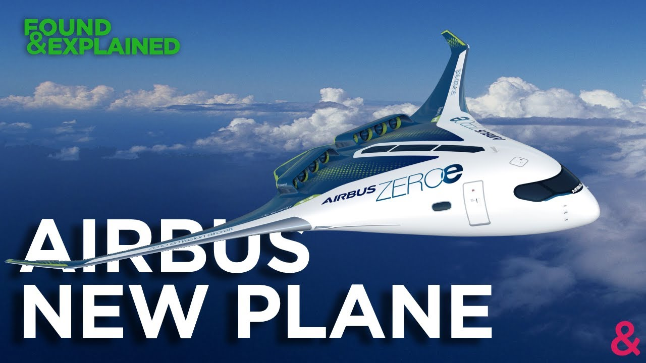 Airbus Future Plane Concept – ZEROe – Hydrogen, New Cabins And Zero Emissions – Never Built