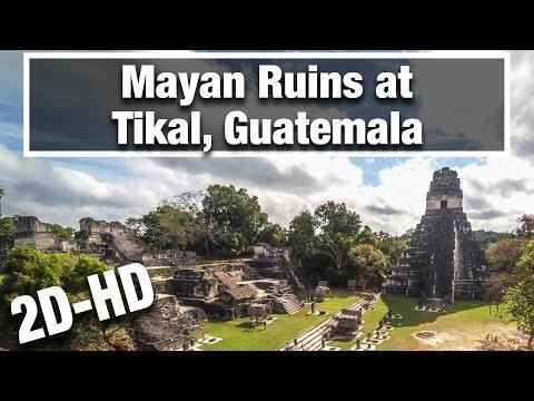 2D City Walks: Tikal, Guatemala HD - Explore the Ruins of the Ancient Mayan City