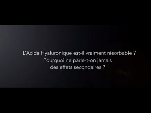 acide hyaluronique effets secondaires youtube. Black Bedroom Furniture Sets. Home Design Ideas
