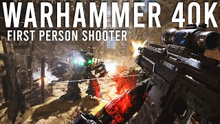 Warhammer 40K FPS - Necromunda Gameplay and Impressions