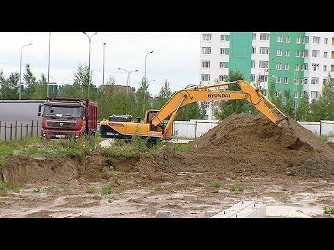 В Ханты-Мансийске началась большая олимпийская стройка