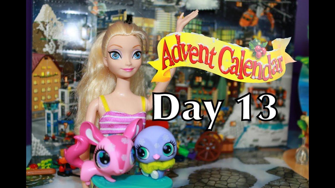 Frozen Surprise Toys Elsa Advent Calendar DAY 13 LPS ...