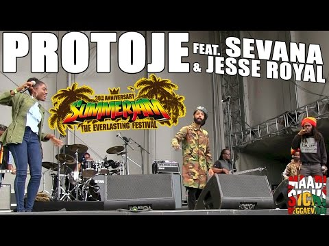 Protoje feat. Sevana & Jesse Royal - Sudden Flight @SummerJam 2015
