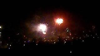 Naujieji metai 2012. Vilijampole. Kaunas. Fireworks