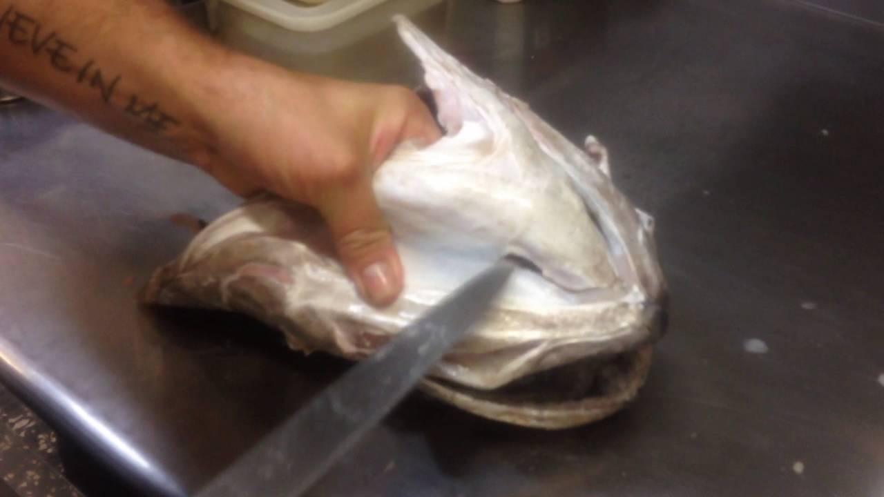 Cocinar Cocochas De Merluza | Como Extraer La Cococha De Merluza Pilpileando Com Youtube