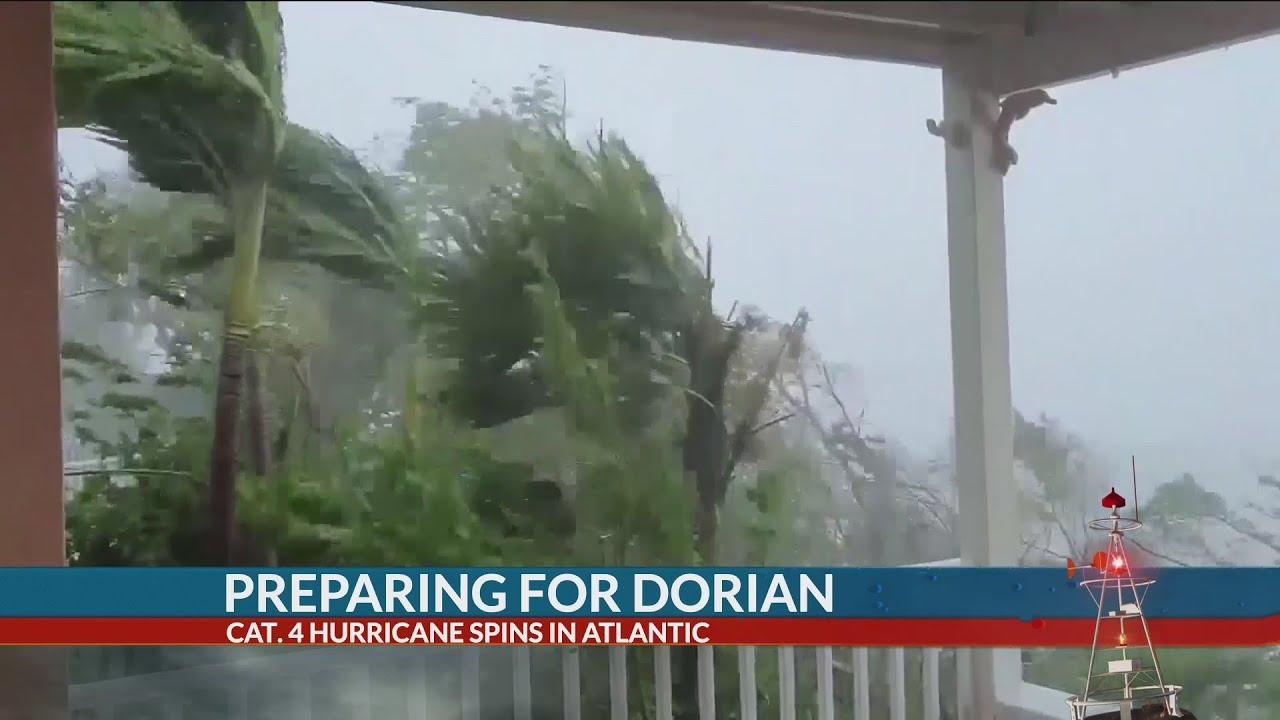 Hurricane Dorian's winds begin thrashing SC coast as storm closes on Charleston