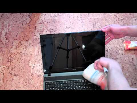 Чем в домашних условиях протереть ноутбук