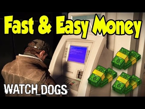 "Watch Dogs - ""Fast & Easy"" Money Guide (Make Thousands Quick) [Watch_Dogs Gameplay]"