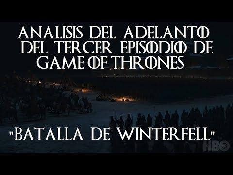 ADELANTO del Episodio 3 EXPLICADO Juego de Tronos Game of Thrones Análisis